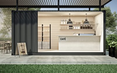 Producten Tiny-house pop-up stores & event locaties