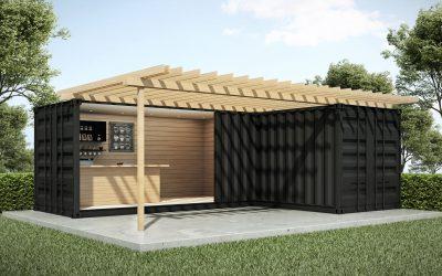 Container tuinhuis
